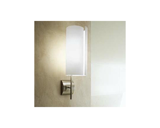 Diane P Wall Lamp \ Sconce By Leucos Lighting - Diane P from Leucos is a classic wall sconce featuring a tubular, hand-blown glass shade available in 2 colors.