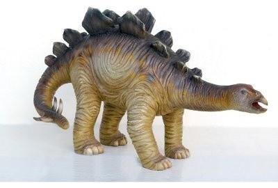 Design Toscano The Grand-Scale Wildlife Animal Collection Stegosaurus Statue modern-garden-sculptures