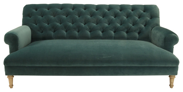 Cobble Hill Prince Tufted Sofa Vance Bermuda Contemporary Sofas By Abc Carpet Home