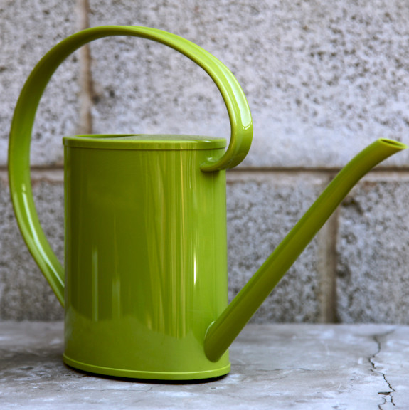 Spring Green Calypso Watering Can contemporary-gardening-tools