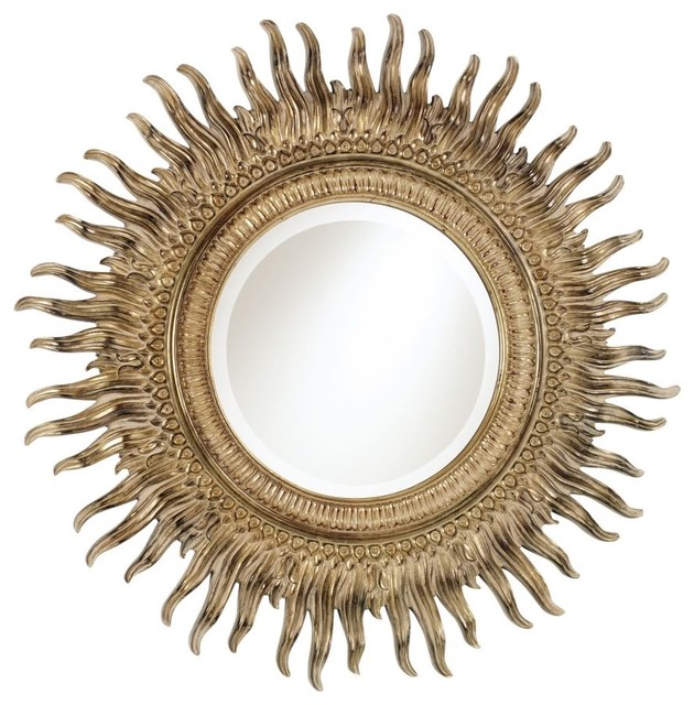 sunburst mirror traditional-mirrors