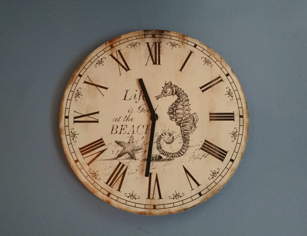 nautical decor beach style wall clocks baltimore by annapolis maritime antiques. Black Bedroom Furniture Sets. Home Design Ideas
