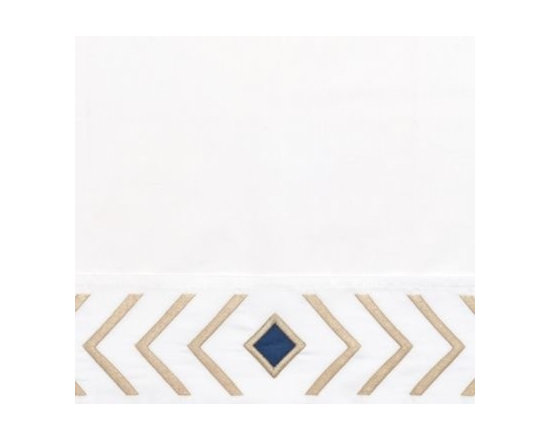 Sand/Navy Canyon Pillowcases