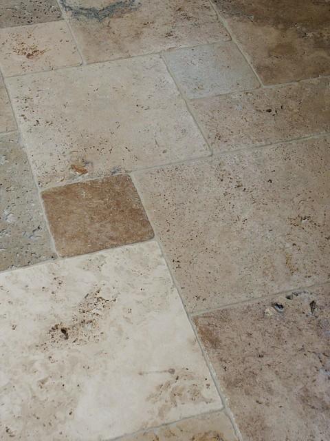 Elegant Earthstone Travertine Tile mediterranean