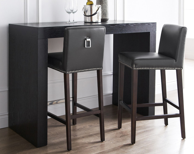 Brooke Leather Counter Stool contemporary-kitchen-products