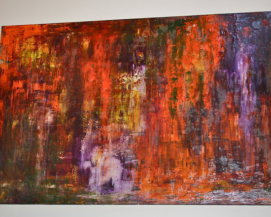 Abstract Painting by Brian Gibson -