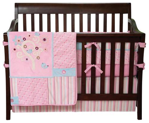 Brielle Crib Bedding Set contemporary-cribs