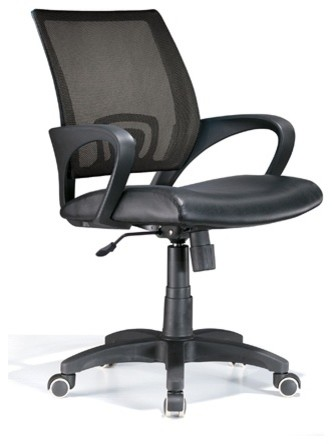 Officer Office Chair Black contemporary-task-chairs