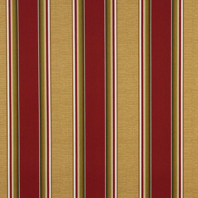 Red Green And Gold Striped Indoor Outdoor Marine ...