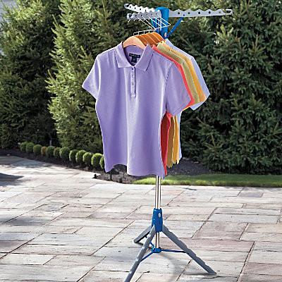Tripod Portable Clothes Dryer - Contemporary - Closet Storage - by Improvements Catalog