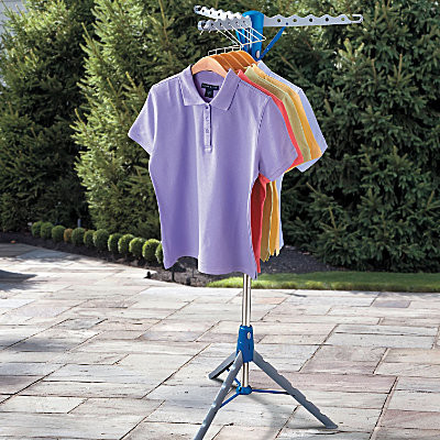 Tripod Portable Clothes Dryer - Contemporary - Closet Storage - by Improvements Catalog