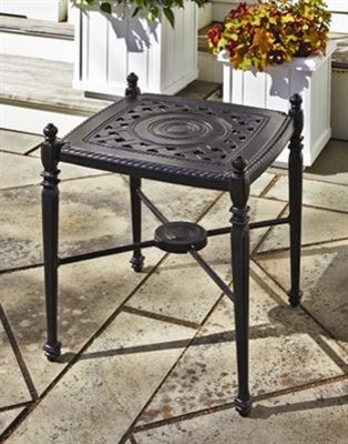 Grand Terrace End Table - traditional - outdoor tables - other ...