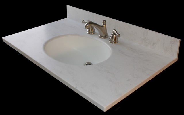 Corian Vanity Tops Traditional Vanity Tops And Side Splashes Other Metr