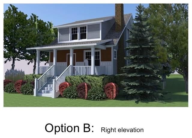 3-D Elevations rendering