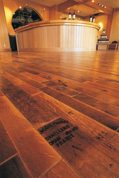 Cooperage Flooring eclectic-hardwood-flooring