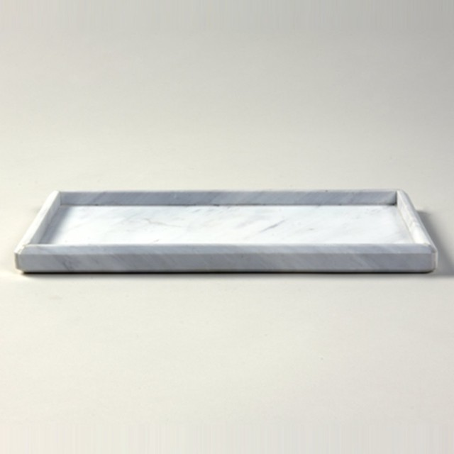 marble tray traditional bathroom accessories other