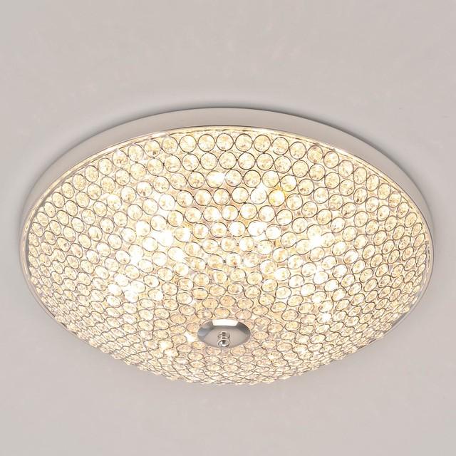 Sparkling Light Show Flush Mount Light bathroom-vanity-lighting