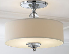 Simplistic Ceiling Fixture traditional ceiling lighting