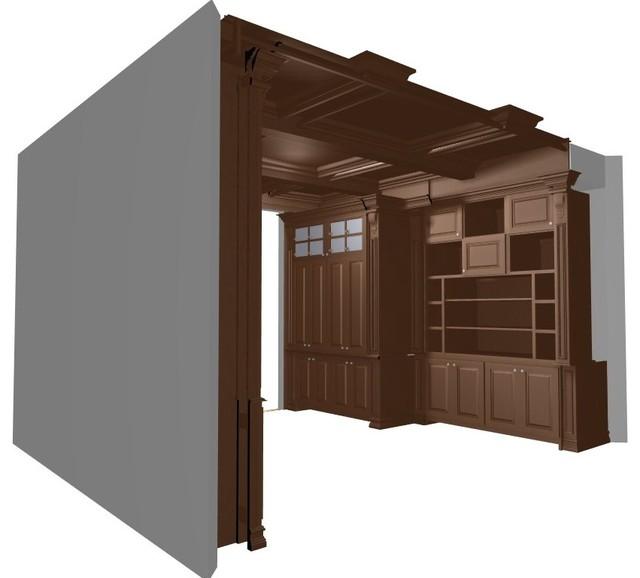 Huang Residence traditional-rendering