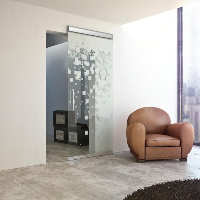 MAGIC VETRO VF - Concealed Sliding System for Glass Door modern-home-improvement