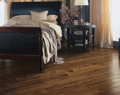 Solid oak plank floor traditional-hardwood-flooring