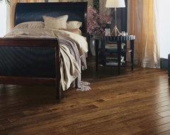 Solid oak plank floor traditional-wood-flooring