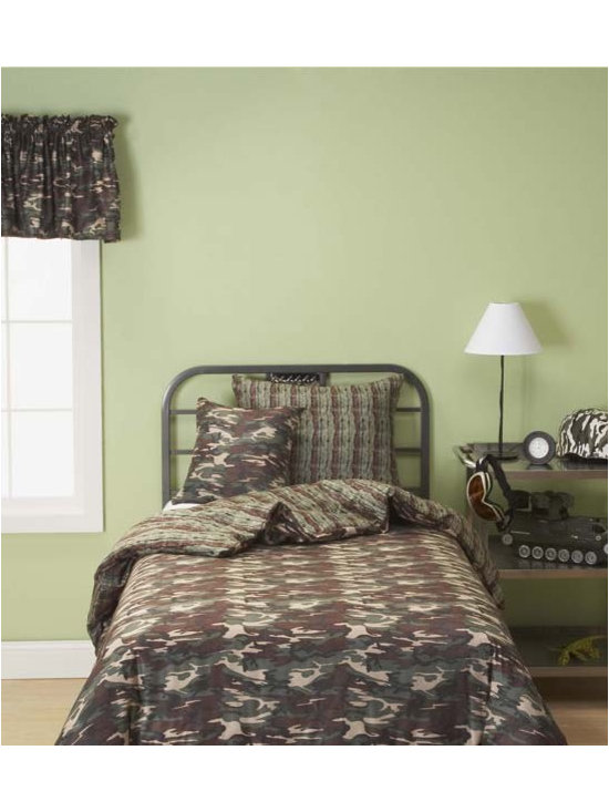 Galaxy Camo Designer Youth Bedding Set By SIS Covers - Galaxy Camo Designer youth bedding is printed on a super-soft 100% polyester machine washable microsuede.