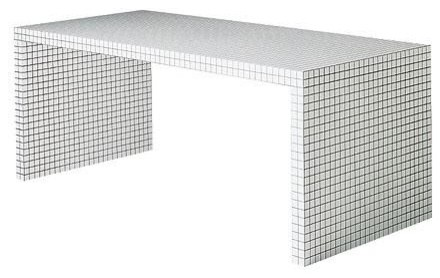 Quaderna Bench By Superstudio For Zanotta contemporary-benches