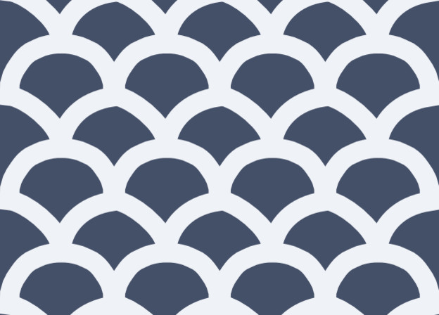 St. Barts Gate White on Blue Fabric by Victoria Larson Textiles mediterranean fabric