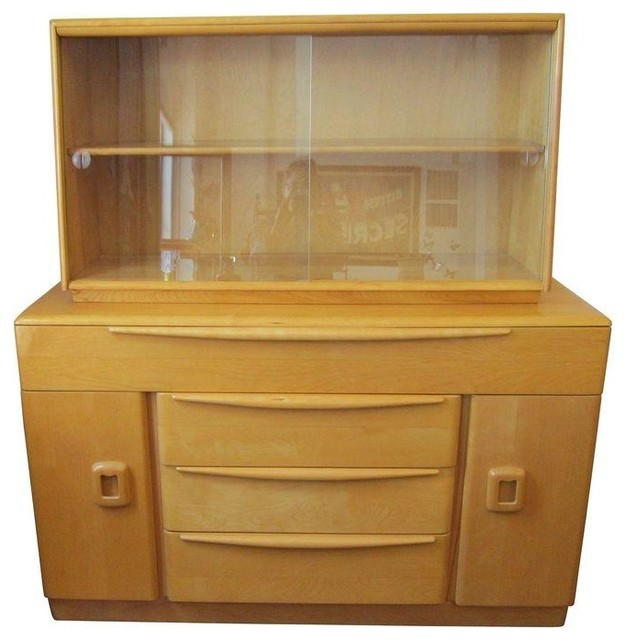 Pre-owned Heywood-Wakefield Credenza - Transitional - Buffets And Sideboards