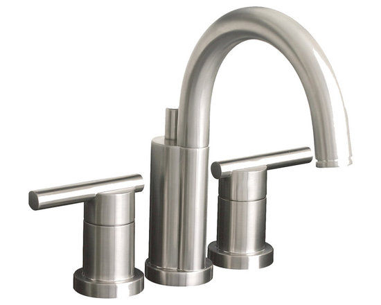 Premier - Premier Essen Lead-free Mini-widespread Double-handle Brushed Nickel Bathroom/ L - Add a contemporary touch to your bathroom with this faucet featuring a sleek brushed nickel finish. This faucet is constructed using brass and is certified lead free for extra safety and added durability.