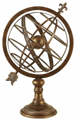 Old World Astrolabe traditional accessories and decor