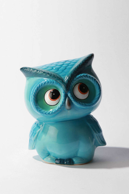 Leo The Owl Bank contemporary accessories and decor