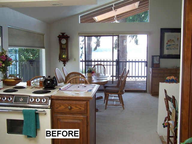 Bremerton's Chico Way Kitchen & Fireplace Remodel contemporary