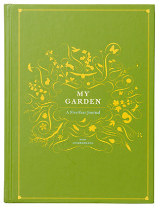 My Garden: A Five Year Journal contemporary gardening tools
