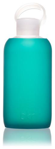 Bkr Bottle, Teal contemporary-serveware