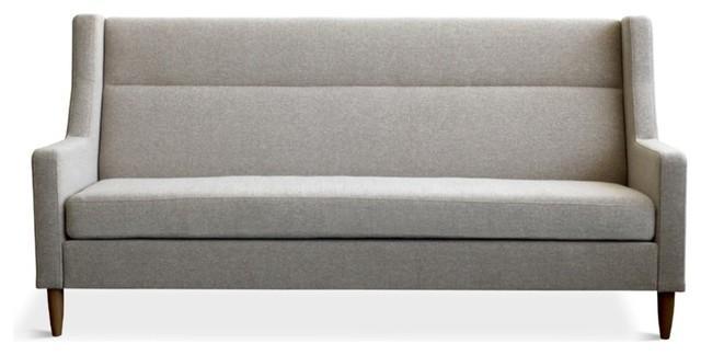 Gus Modern Carmichael Loft Sofa, Urban Tweed Potash modern-sofas