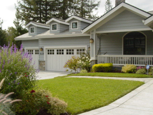 Golf Links Drive on PAR in Los Gatos! traditional-exterior