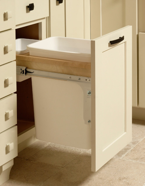 Base Wastebasket Cabinet | CliqStudios.com contemporary kitchen cabinets