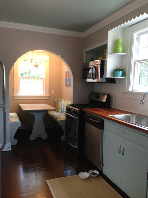 Before & After - 1930's Kitchen Facelift Finally Finished!!