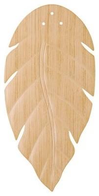 Kichler 370021 52 in. All Weather Ceiling Fan Blade Set - White Washed Oak modern-ceiling-fans