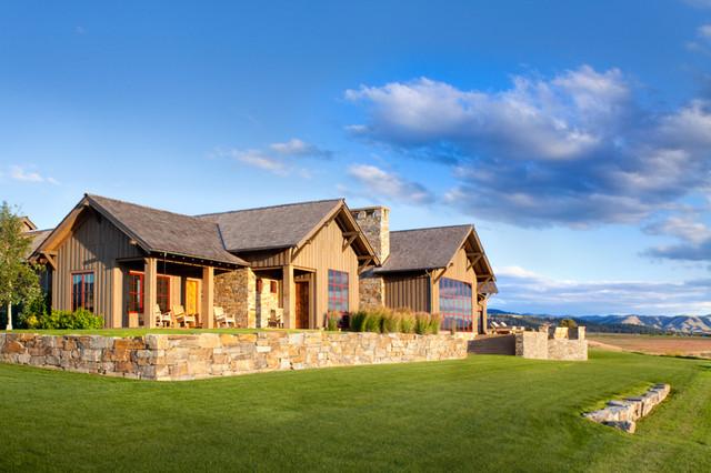 Stock Farm Residence contemporary-exterior