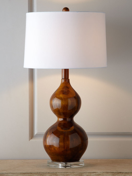 'Palisades' Lamp - This lamp is a smart addition to any room that requires some drama in a subtle way.