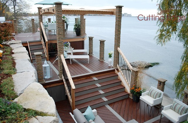 The Waterfront Deck Traditional Toronto By Paul