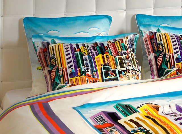 Funky Duvet Cover Set My New York Contemporary Duvet Covers And
