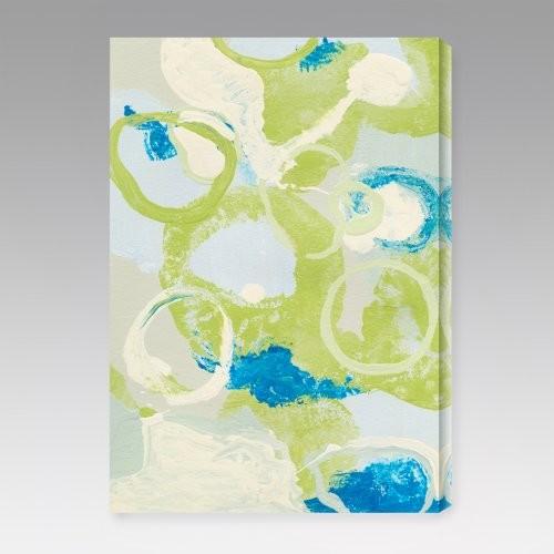 Emerging Impression IV Indoor/Outdoor Canvas Print by Leslie Saris contemporary-artwork