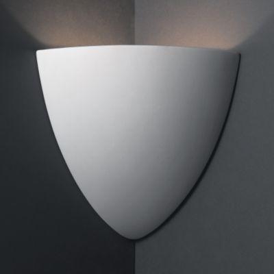 Teardrop Corner Sconce by Justice Design wall-sconces