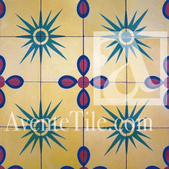 """Artist Series Thimo Pimentel Canacún 8"""" x 8"""" tropical-wall-and-floor-tile"""