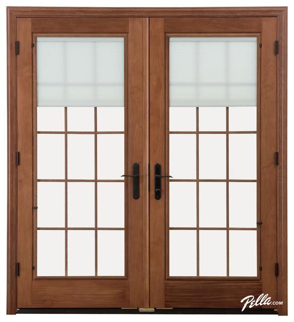 Pella® Designer Series® hinged patio door - Contemporary ...