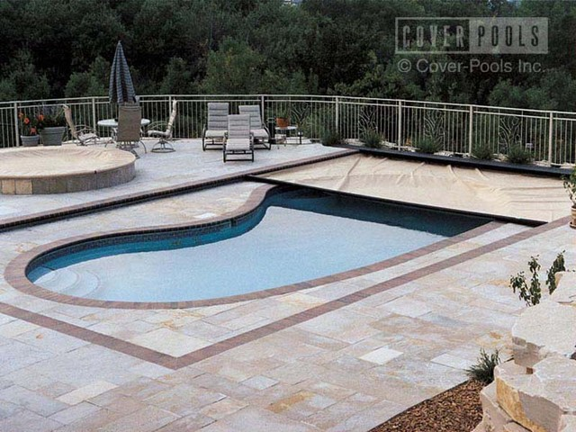 Pool cover for kidney shaped for Images of kidney shaped pools